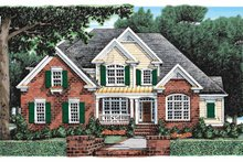 House Plan Design - Traditional Exterior - Front Elevation Plan #927-907