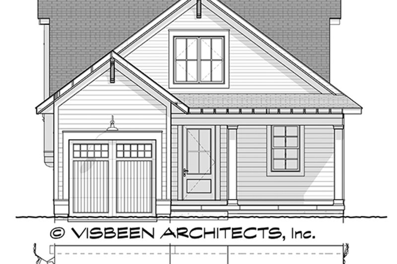 Traditional Exterior - Front Elevation Plan #928-286 - Houseplans.com