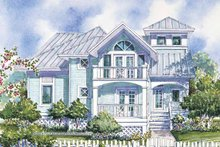 Dream House Plan - Country Exterior - Front Elevation Plan #930-62