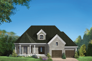 European Style House Plan - 2 Beds 1 Baths 1803 Sq/Ft Plan #25-4864 Exterior - Front Elevation