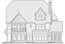 Craftsman Exterior - Rear Elevation Plan #928-34
