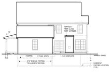 House Plan Design - Traditional Exterior - Rear Elevation Plan #1053-52
