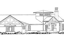 Ranch Exterior - Front Elevation Plan #942-31