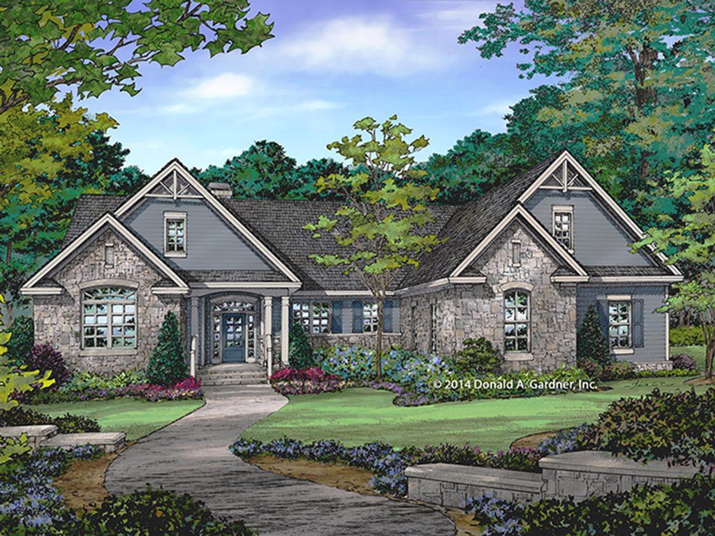 Craftsman style house plan 4 beds 3 baths 2331 sq ft for Craftsman vs mission style