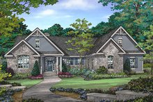 House Plan Design - Craftsman Exterior - Front Elevation Plan #929-978