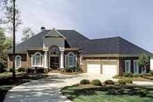 Home Plan - Colonial Exterior - Front Elevation Plan #453-563