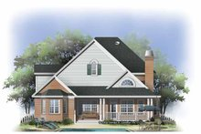 Dream House Plan - Traditional Exterior - Rear Elevation Plan #929-796