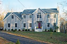 Colonial Exterior - Front Elevation Plan #1061-5