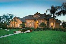 House Plan Design - Mediterranean Exterior - Front Elevation Plan #1039-5