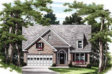 Dream House Plan - Bungalow Exterior - Front Elevation Plan #927-200