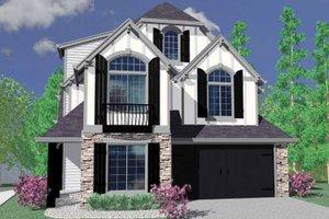 Craftsman Exterior - Front Elevation Plan #509-331