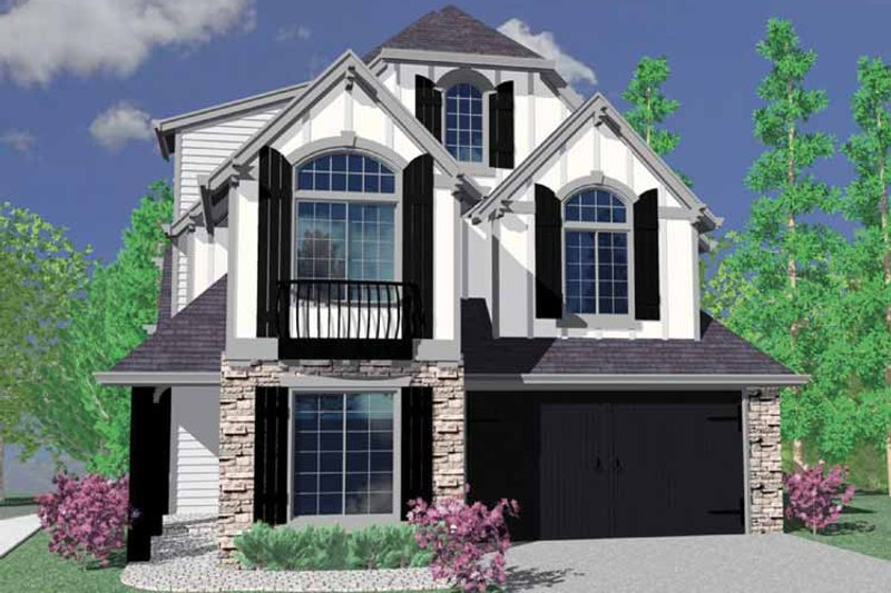 Craftsman Exterior - Front Elevation Plan #509-331 - Houseplans.com