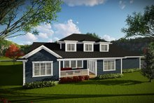 Home Plan - Craftsman Exterior - Rear Elevation Plan #70-1470