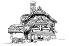 Architectural House Design - Craftsman Exterior - Other Elevation Plan #942-26