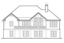 House Plan Design - European Exterior - Rear Elevation Plan #927-961