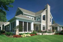 Architectural House Design - Craftsman Exterior - Rear Elevation Plan #928-188