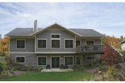Craftsman Style House Plan - 3 Beds 3.5 Baths 3210 Sq/Ft Plan #928-80 Exterior - Rear Elevation