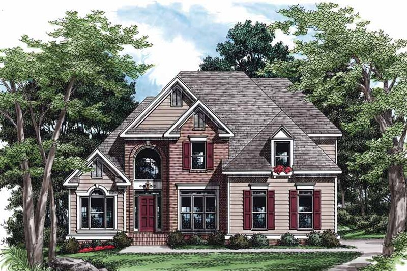 Traditional Exterior - Front Elevation Plan #927-236 - Houseplans.com