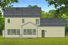 House Plan Design - Traditional Exterior - Rear Elevation Plan #1010-201