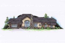 Cottage Exterior - Front Elevation Plan #945-130