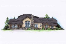 House Design - Cottage Exterior - Front Elevation Plan #945-130