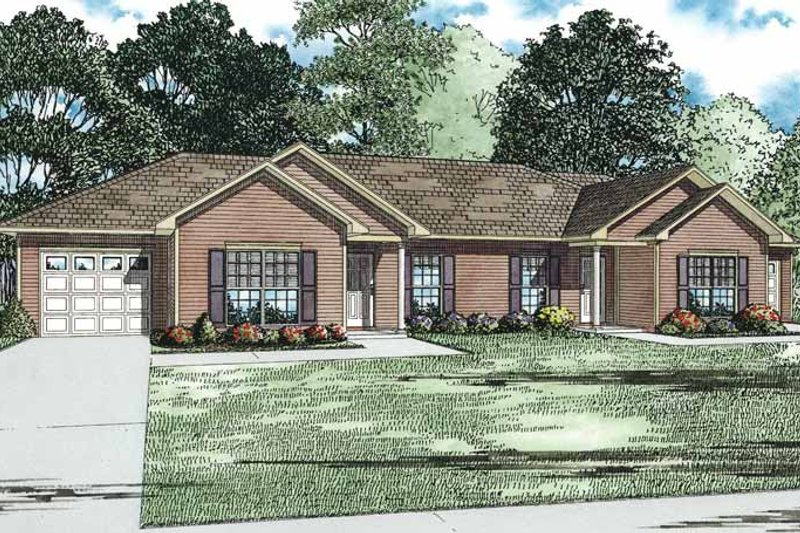 Home Plan - Victorian Exterior - Front Elevation Plan #17-3333
