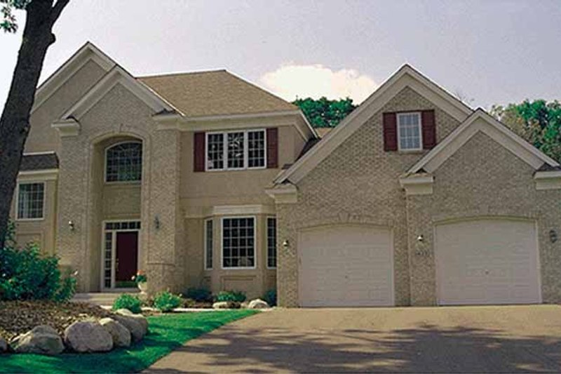 Traditional Exterior - Front Elevation Plan #51-949
