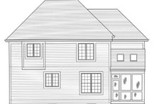 Country Exterior - Rear Elevation Plan #46-818