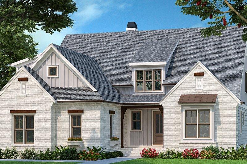 Home Plan - Farmhouse Exterior - Front Elevation Plan #927-1006