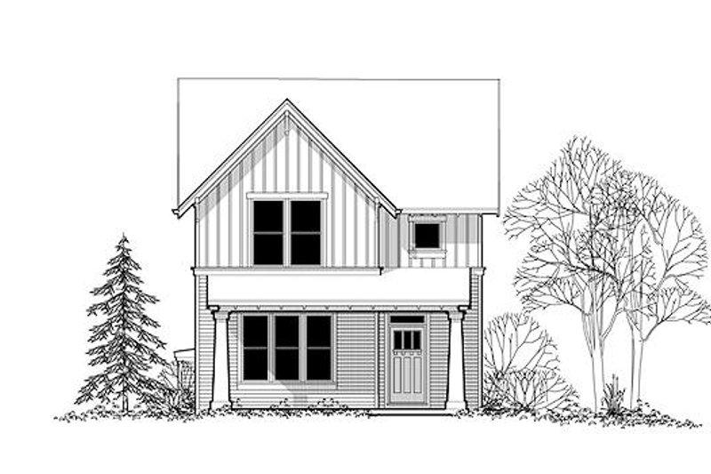 Craftsman Exterior - Front Elevation Plan #48-493 - Houseplans.com