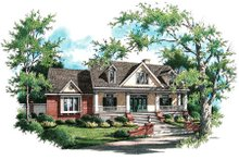 Dream House Plan - Country Exterior - Front Elevation Plan #45-338