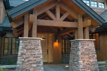 Craftsman style home, elevation photo