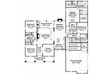 Country Floor Plan - Main Floor Plan Plan #21-284