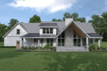 Dream House Plan - Cottage Exterior - Rear Elevation Plan #1070-72