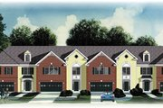 Traditional Style House Plan - 3 Beds 2.5 Baths 9536 Sq/Ft Plan #26-230 Exterior - Front Elevation