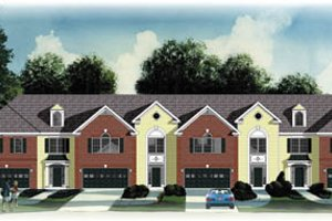 Traditional Exterior - Front Elevation Plan #26-230