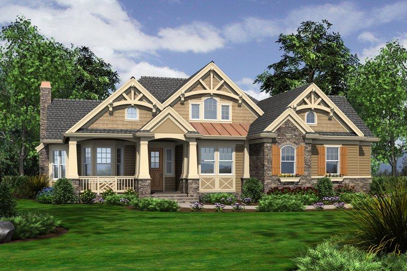 Home Plan - Craftsman Home Plan