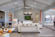 Contemporary Style House Plan - 3 Beds 4.5 Baths 3380 Sq/Ft Plan #930-476
