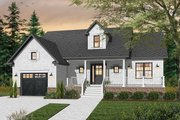 Cottage Style House Plan - 2 Beds 1 Baths 1344 Sq/Ft Plan #23-2282 Exterior - Front Elevation