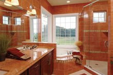 House Plan Design - Country Interior - Master Bathroom Plan #930-140