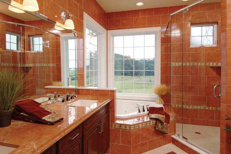 Country Interior - Master Bathroom Plan #930-140 - Houseplans.com