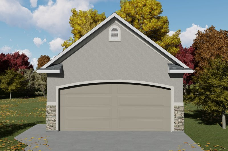 Dream House Plan - Traditional Exterior - Front Elevation Plan #1060-78