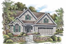 Dream House Plan - Ranch Exterior - Front Elevation Plan #929-725