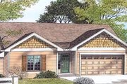 Traditional Style House Plan - 3 Beds 2 Baths 1192 Sq/Ft Plan #53-103