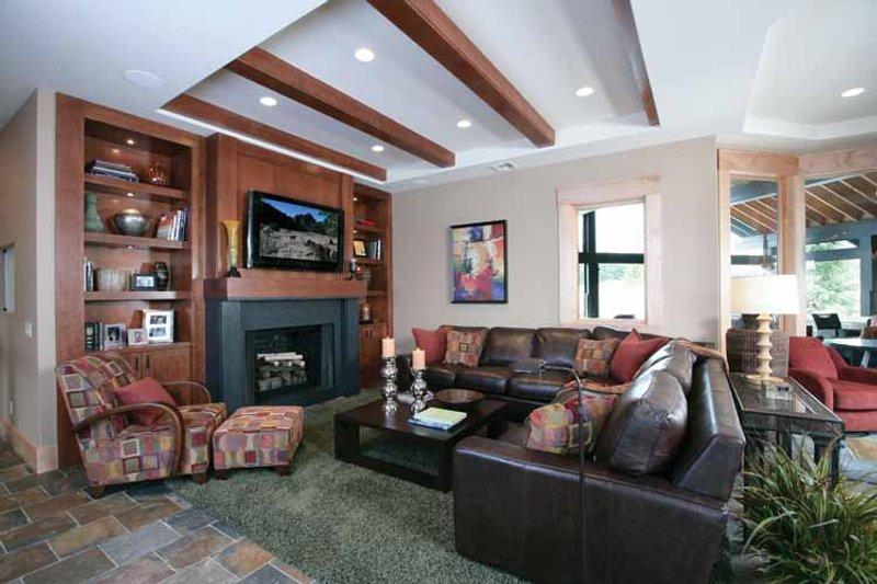 Prairie Interior - Family Room Plan #928-62 - Houseplans.com