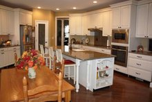 Dream House Plan - Country Interior - Kitchen Plan #927-653