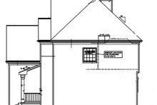 Colonial Exterior - Other Elevation Plan #453-341