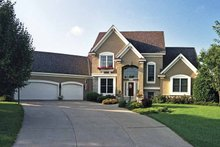 Architectural House Design - Traditional Exterior - Front Elevation Plan #51-831