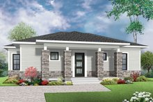 Home Plan - Ranch Exterior - Front Elevation Plan #23-2619