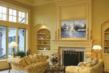 Country Interior - Family Room Plan #928-166
